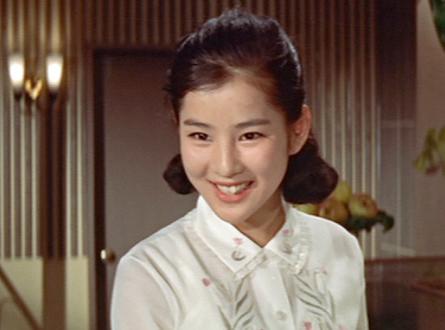 映画出演する吉永小百合。